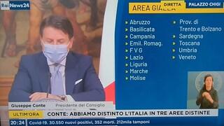 Nuovo Dpcm, Conte: Campania è area gialla. Sorpresa: cambia tutto di nuovo