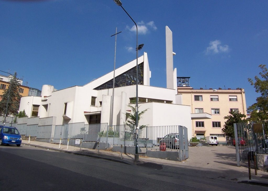 La Cappella Cangiani al Rione Alto.