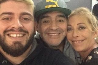 """Cristiana, la mamma di Diego Jr, a Maradona: """"Ti ameremo per sempre"""""""