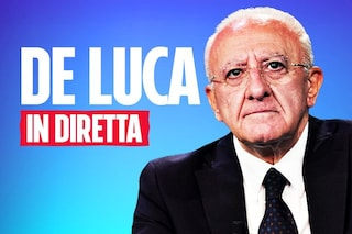 """Campania, De Luca: """"Volevo chiudere tutto, il governo ha perso 2 mesi. Il sindaco di Napoli non fa nulla"""""""