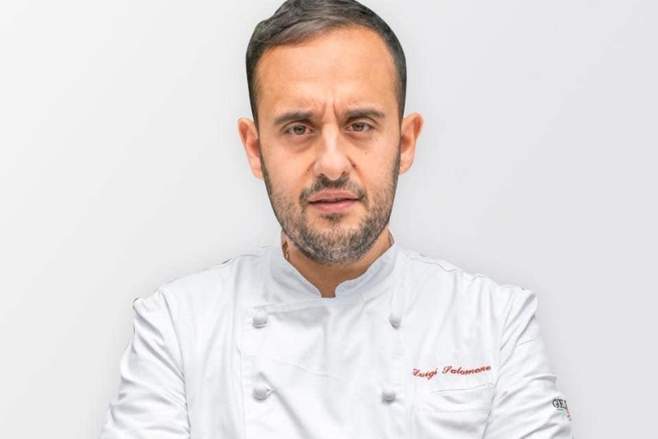 Lo chef Luigi Salomone