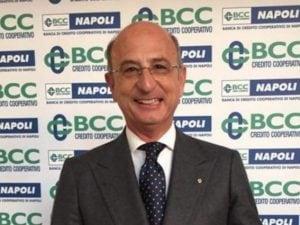 Amedeo Manzo, presidente di Bcc Servizi Assicurativi
