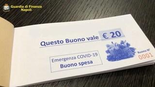 Buoni spesa Covid, a Salerno 75 persone li percepivano senza averne diritto