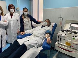 Plasma iperimmune, al Cardarelli il primo donatore è un medico chirurgo guarito dal Covid