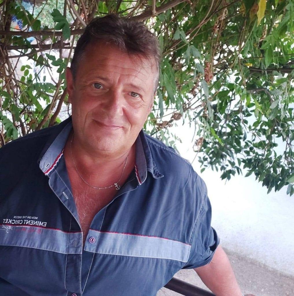 Giuseppe D'Orta, capitano della Polizia Municipale di Napoli, morto per coronavirus.