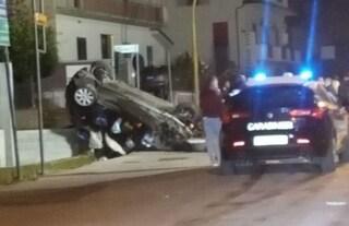 Incidente a Limatola, morto un 16enne: l'auto si schianta contro un muro, poi si ribalta