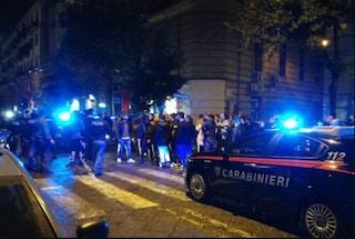 Festa di Halloween abusiva al Borgo Sant'Antonio Abate: emessi 8 Daspo per la rissa con gli agenti