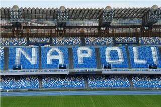 """Allo stadio Maradona, sostituiti 1.400 sediolini: comporranno la scritta """"Napoli"""""""