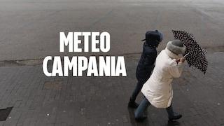 Meteo Napoli e Campania, ancora pioggia e raffiche di vento su tutta la regione