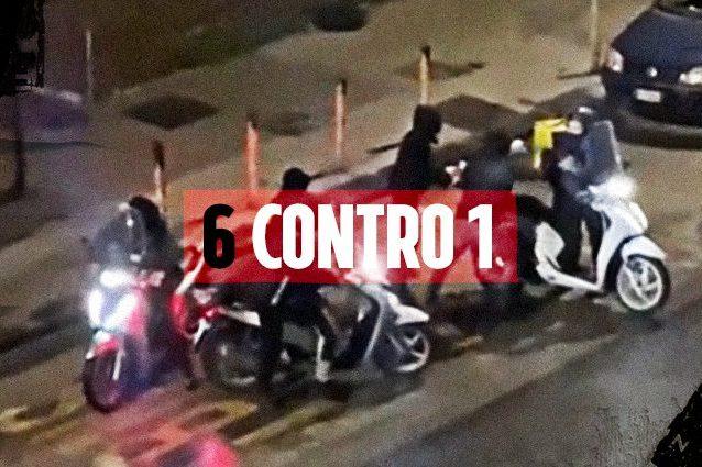 Rider picchiato e derubato, arrestati 5 rapinatori: motorino ritrovato