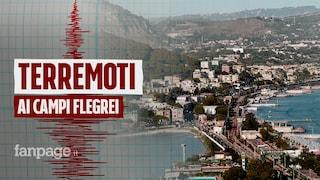 Campi Flegrei, la ricerca INGV: terremoti causati da presenza di gas nel sottosuolo