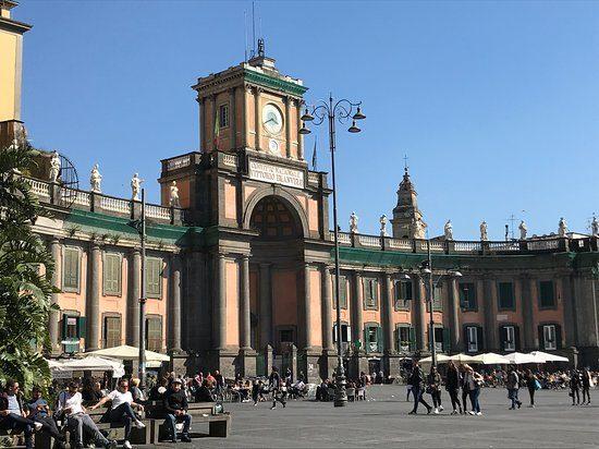 Il Convitto Vittorio Emanuele II di Napoli.