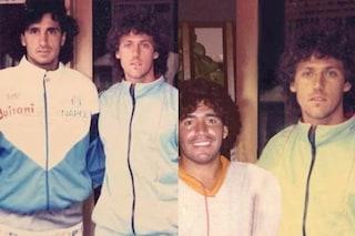 """Il sindaco di Portici Cuomo pubblica la foto: """"Eccomi con Maradona"""". Ma è un fotomontaggio"""