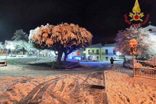 La neve in Irpinia
