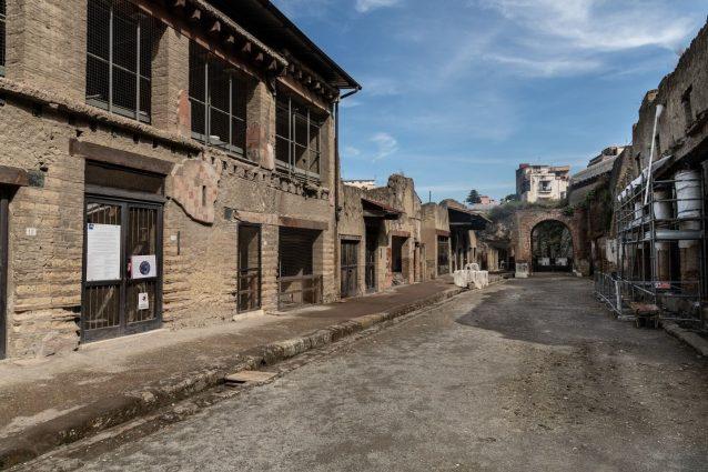 La Casa del Bicentenario all'interno del Parco Archeologico di Ercolano.