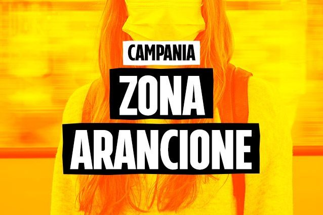 Campania torna in zona arancione