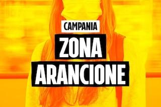 La Campania resta zona arancione Covid: rischio moderato. Ma aumentano i contagi