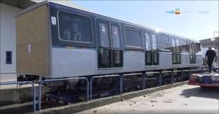 Napoli, i nuovi treni della metropolitana in servizio ad aprile