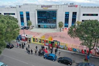 """Sciopero Amazon, ad Arzano nessun lavoratore al presidio: """"Paura che contratti non vengano rinnovati"""""""