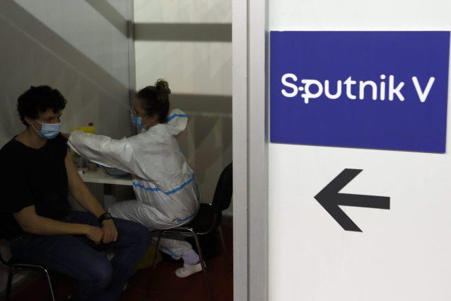 Vaccinazioni Sputnik in Serbia
