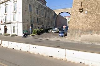 Via Acton, parte il cantiere per l'Università Parthenope e la muraglia Angioina: lavori per 11 mesi