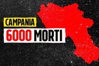 In Campania superati i 6mila morti per Covid, mille decessi in meno di un mese