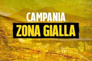 Campania, confermata la zona gialla Covid per la prossima settimana