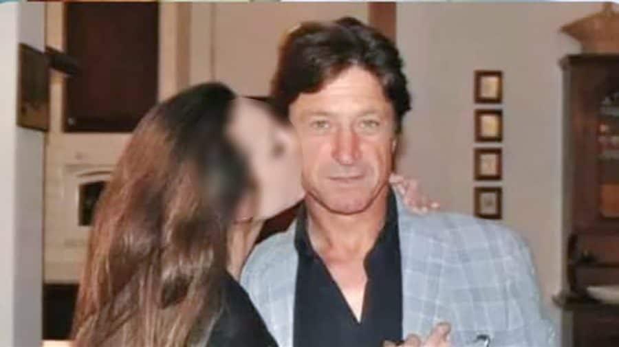 Maurizio Cerrato e la figlia