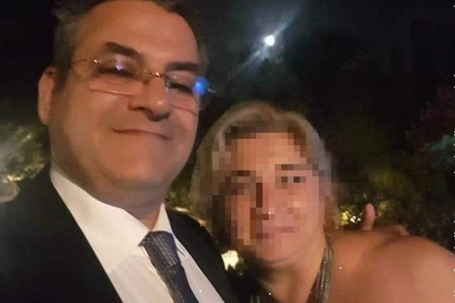 Antonio Boccia e la moglie.
