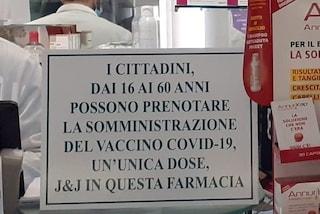 A Napoli le farmacie si preparano a vaccinare contro il Covid con J&J, avvisi per prenotare le dosi