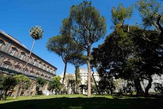Palazzo Reale di Napoli, riaprono il giardino romantico e i cortili con la zona arancione