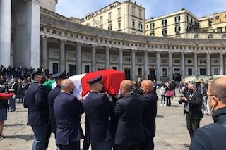 Oggi i funerali di Stato per Giovanni Vivenzio il poliziotto dei Falchi morto in servizio