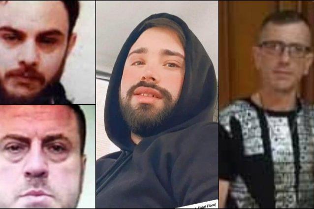 I quattro indagati per l'omicidio