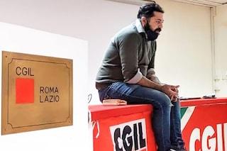Antonio Prisco, rider sindacalista morto a 37 anni, ricordato al Primo Maggio della CGIL