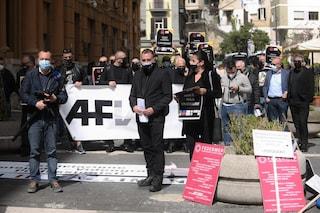 """Covid, protesta il settore del wedding a Napoli: """"Fateci tornare a lavorare"""""""