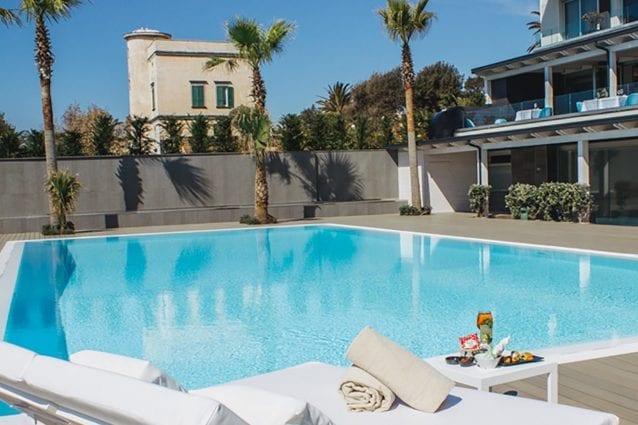 Il resort Tre Fontane di Portici (da Facebook)