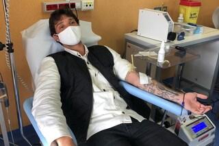 """Stefano De Martino donatore di sangue al Santobono di Napoli: """"Fatelo anche voi"""""""
