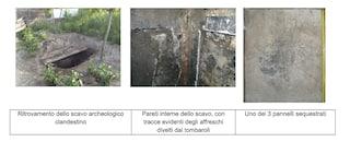 Scavi di Pompei, restituiti sei pezzi di affreschi staccati dalle pareti delle domus