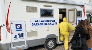 """Il camper per i vaccini Covid arriva a Miano ospite del centro commerciale """"La Birreria"""""""