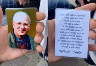 """Il """"santino"""" di Raffaele Cutolo finisce su TikTok: il mito del boss anche dopo la morte"""
