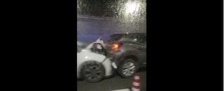 Incidente nella Galleria Laziale, traffico in tilt tra Fuorigrotta e Mergellina