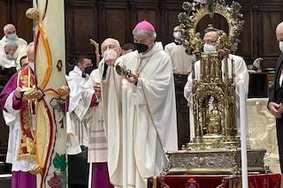 San Gennaro, non si è sciolto il sangue: non si è ripetuto il miracolo di maggio alle 19,16