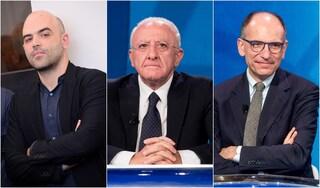 """Caso Saviano-Scurati, Letta si schiera contro De Luca. Fondazione Ravello: """"Scavalcati dall'ex presidente"""""""
