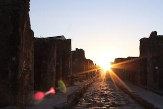 Agli Scavi di Pompei 100 visitatori potranno assistere all'alba magica il 21 giugno