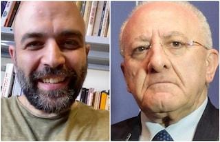 """Saviano accusa: """"De Luca mi ha  escluso da Ravello"""". E Scurati si dimette"""