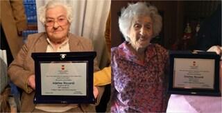 Cristina e Adelina, le nonne di Napoli: una targa per le due sorelle centenarie