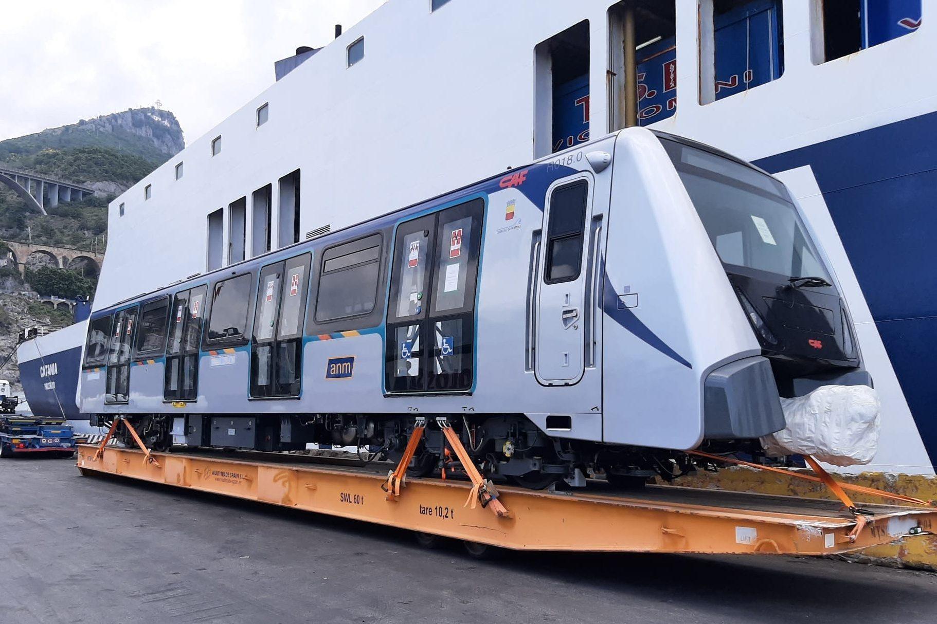 I nuovi treni della Linea 1