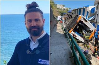 """Bus precipitato a Capri, """"l'autista morto per i traumi non per il malore"""": primi esiti dell'autopsia"""