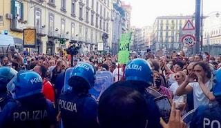 I 'No Green Pass' tornano in piazza a Napoli, Salerno, Caserta, Avellino. Digos già allertata