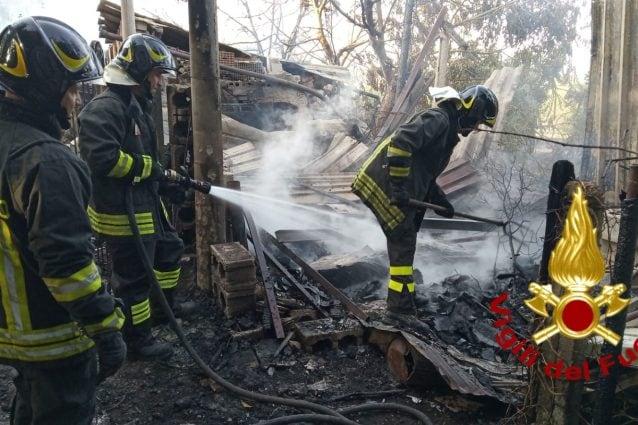 Incendi nell'Avellinese, i Vigili del Fuoco al lavoro per tutta la notte